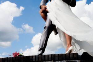 trouwen bruid bruidsboeket Heas Binnema